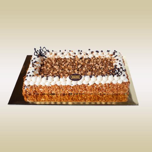 Sós Karamell torta
